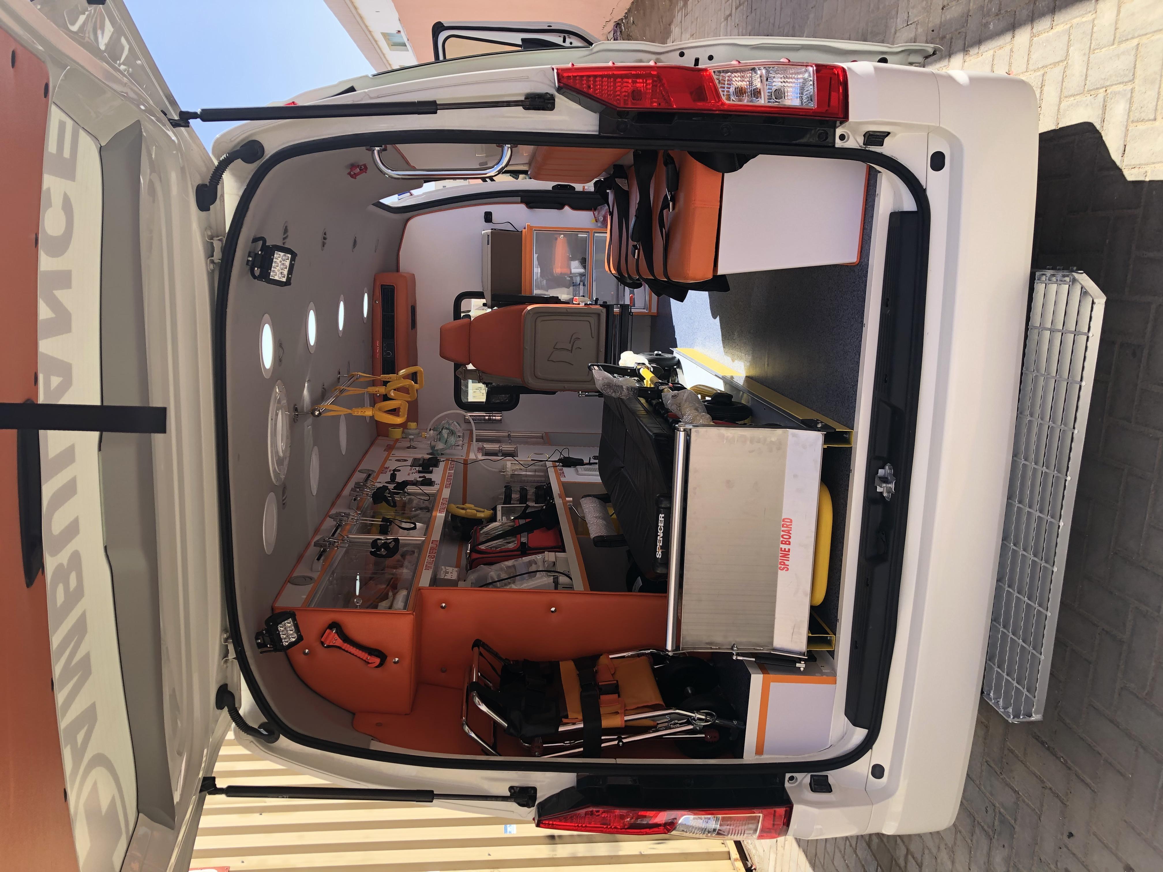 Toyota Hiace Hi Roof Ambulance Advance Life Support