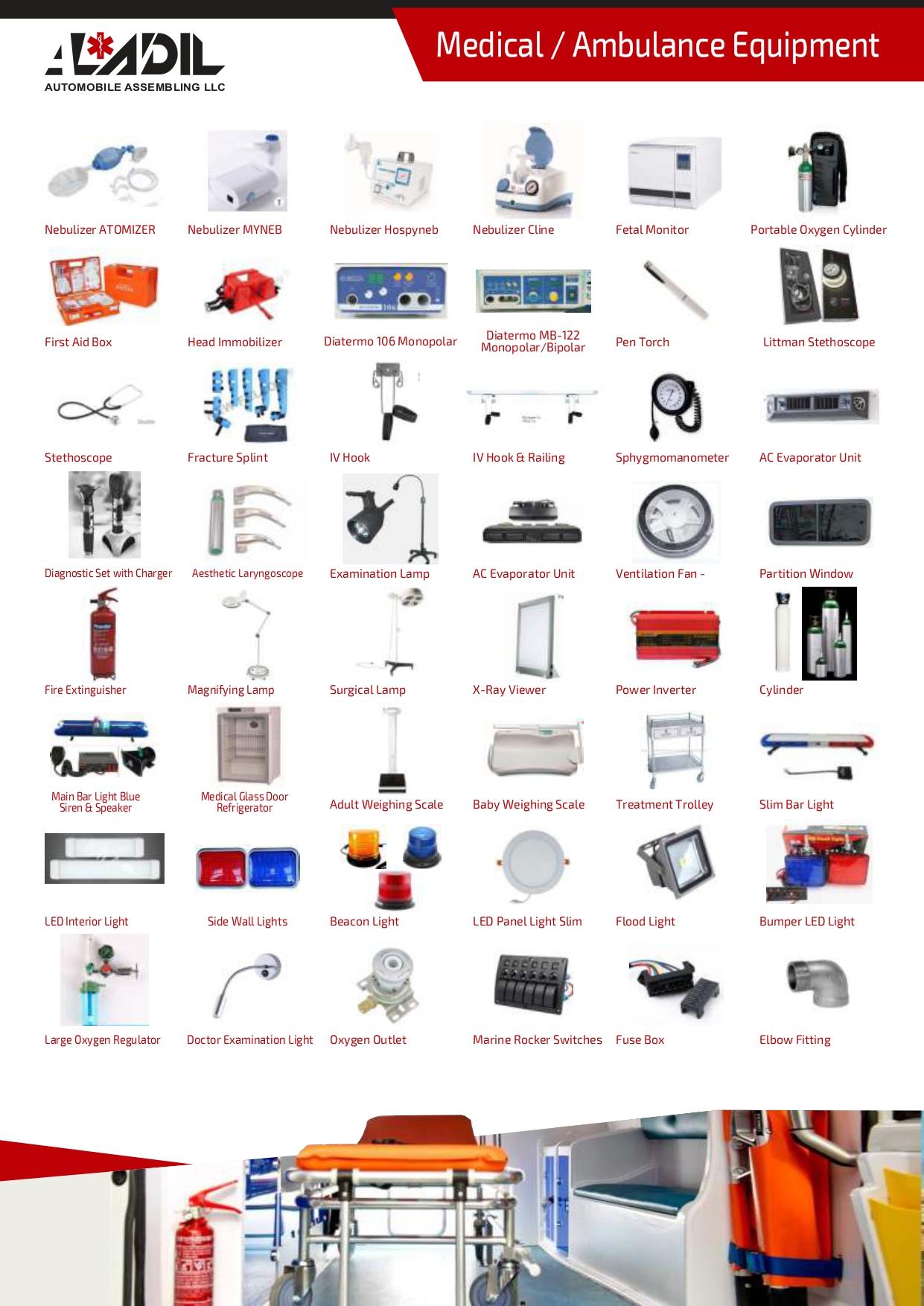 Medical Equipment Supplier in Dubai - UAE