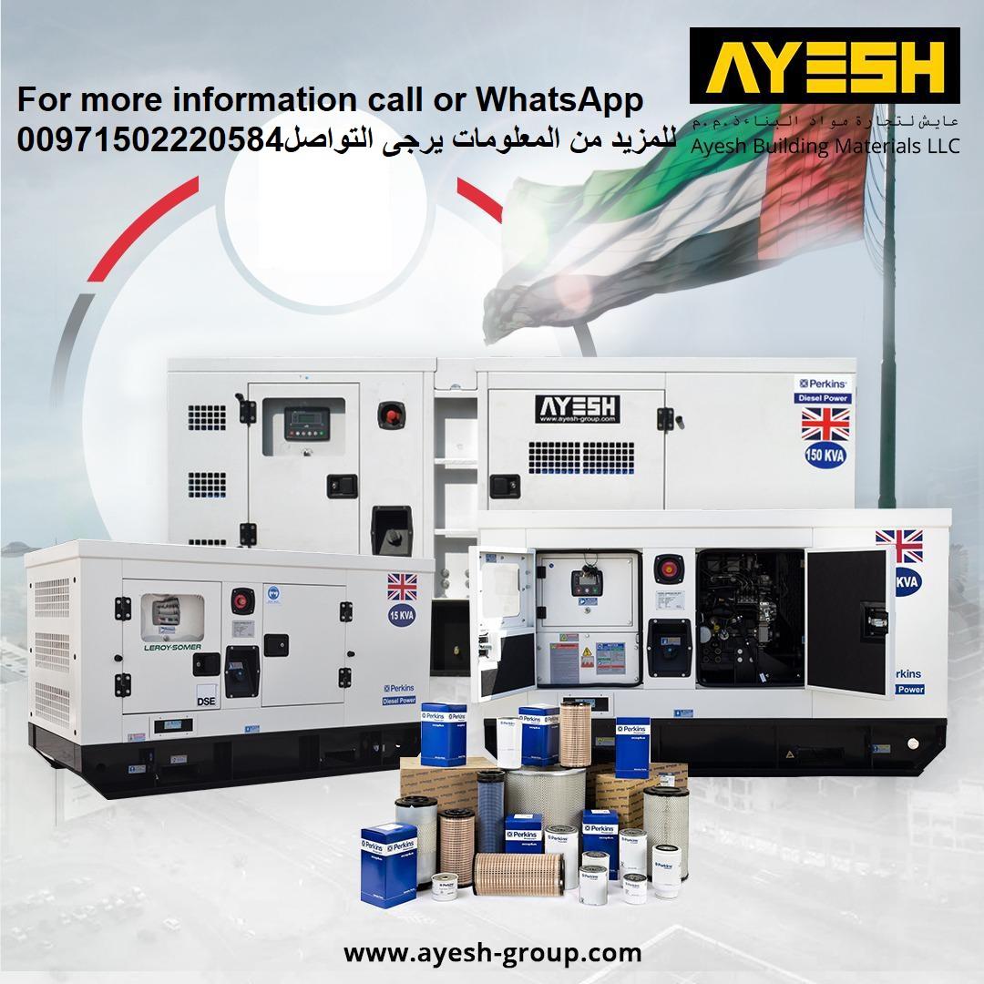 Brand New Power Diesel GeneratorS Made In UK,USA,FRANCE