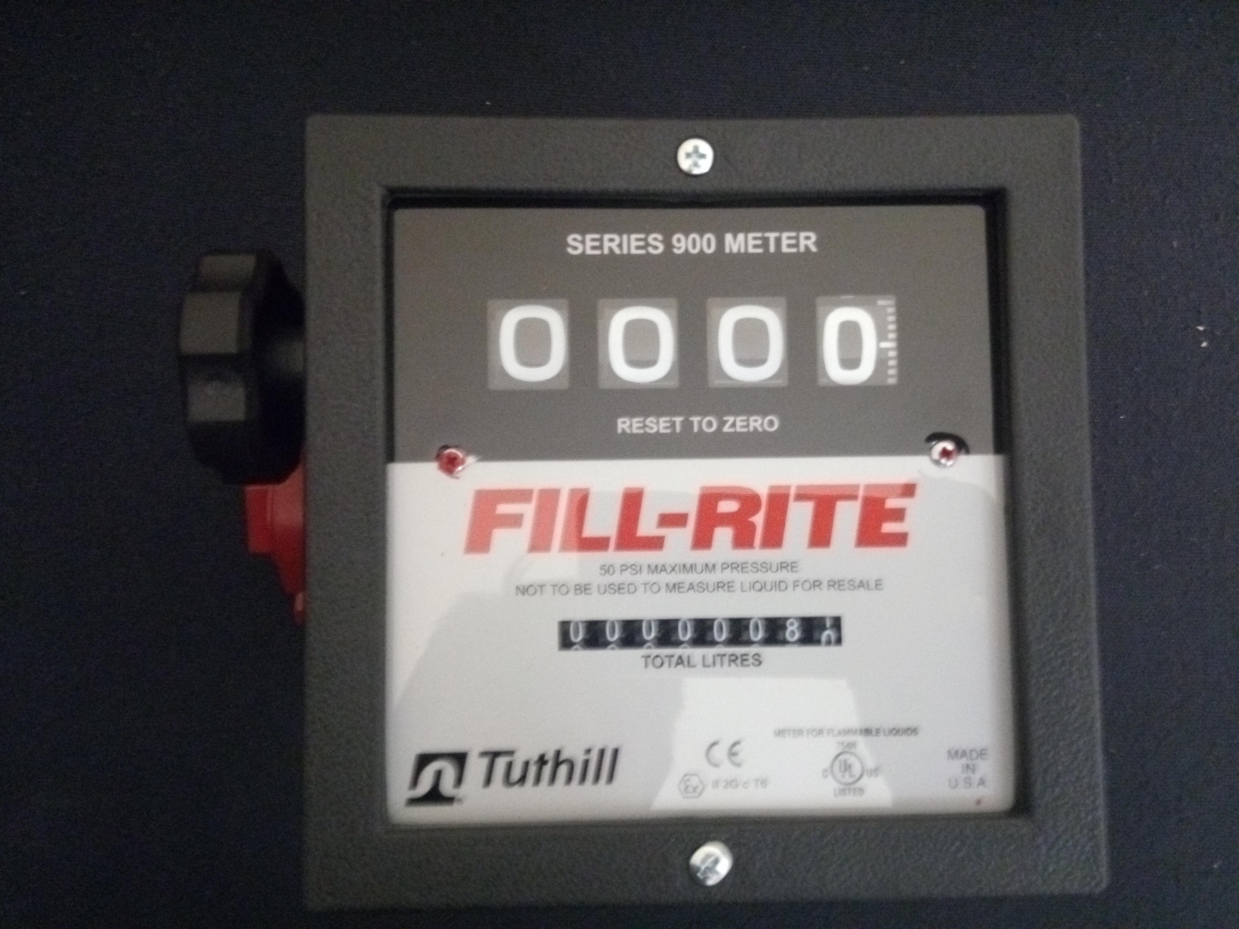FILLRITE MECHANICAL 4 DIGIT FLOW METER / FR901 SERIES