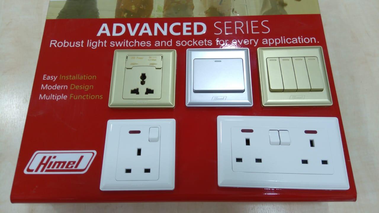 Himel 13A Switch socket