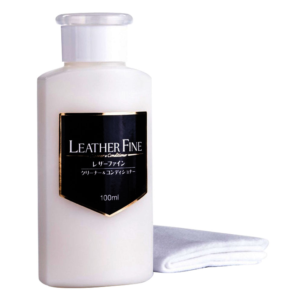 SOFT99 Leather Fine-Cleaner & Conditioner BS520