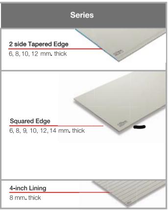 SCG Fiber Cement Board