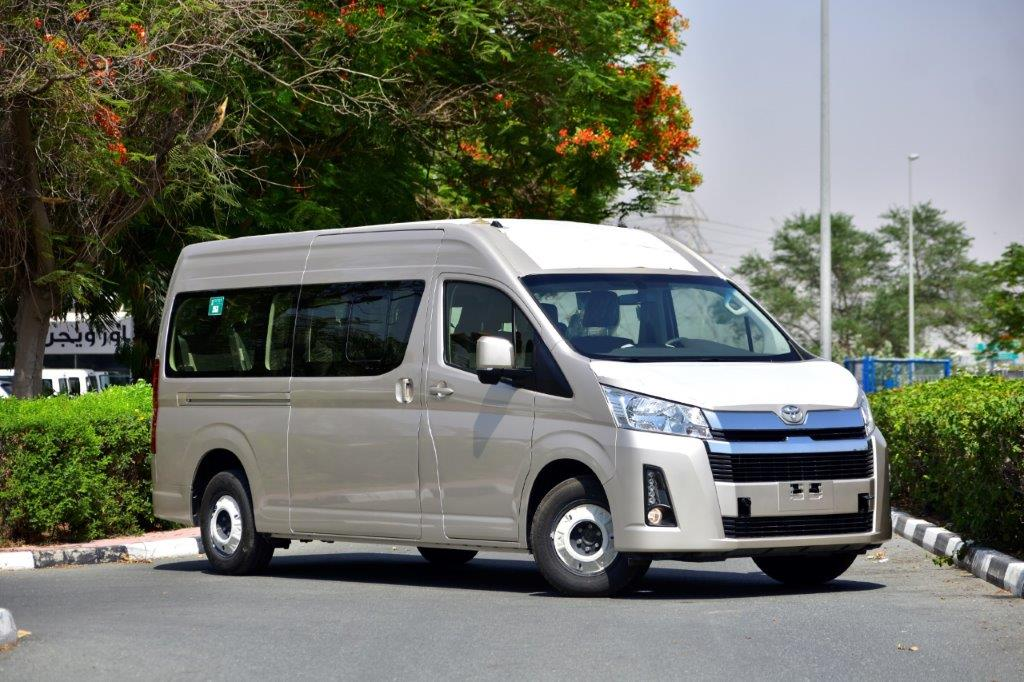 2020 MODEL TOYOTA HIACE HIGH ROOF GL 2.8L  DIESEL 13  SEATER BUS AUTOMATIC TRANSMISSION