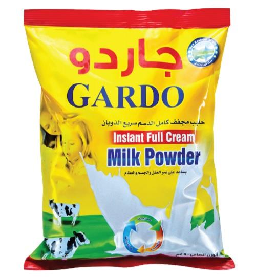 Gardo Full Cream Milk Powder 2.5 kg x 6