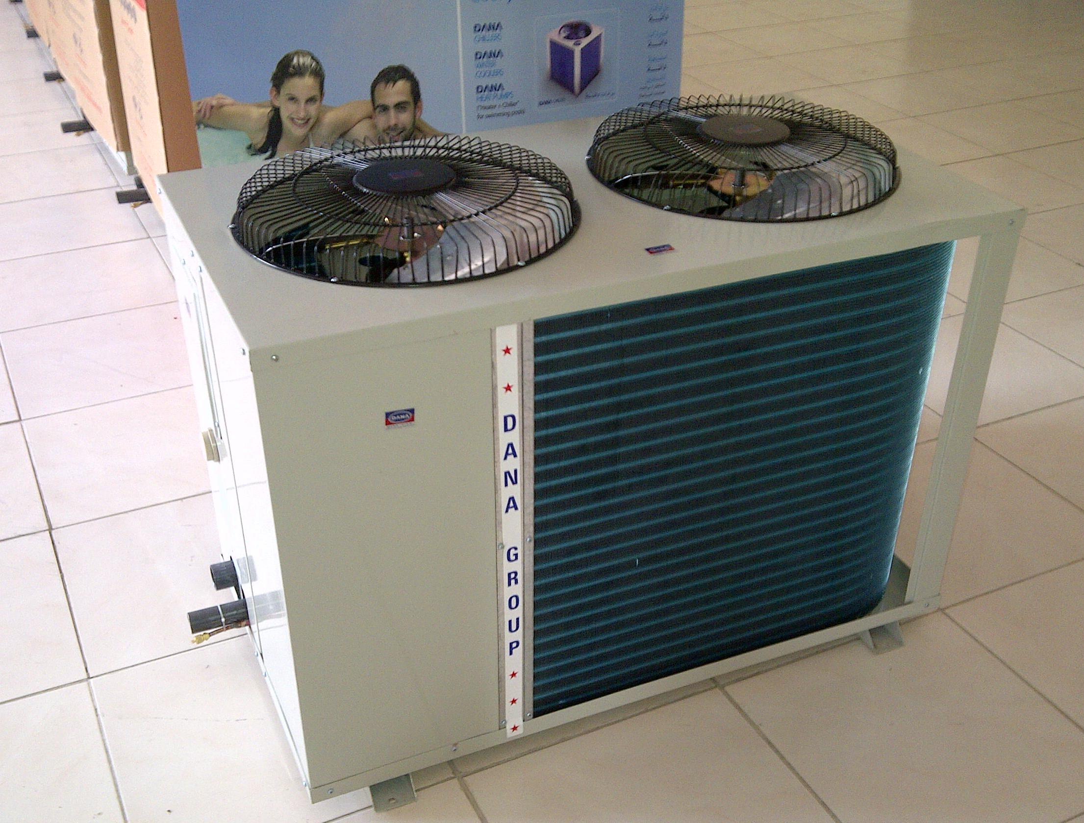 Semi Hermetic Screw Water Chiller - DANA UAE-INDIA