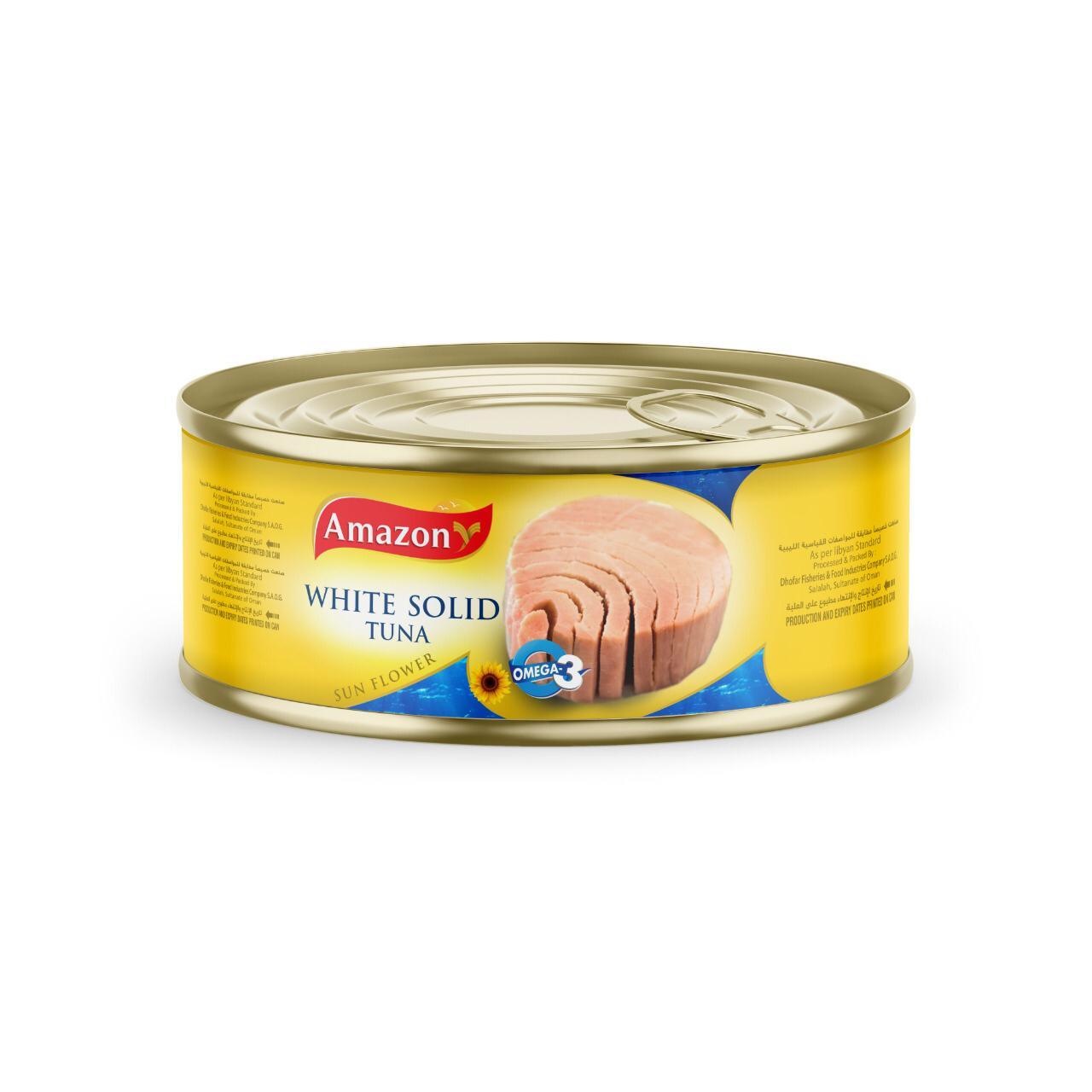 Amazon tuna sunflower oil