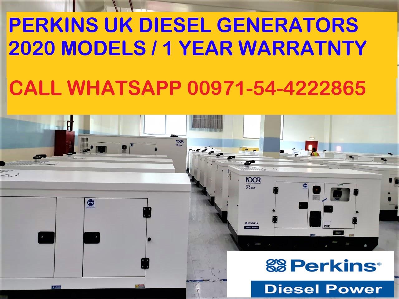 Perkins UK Diesel Generators Model 2020