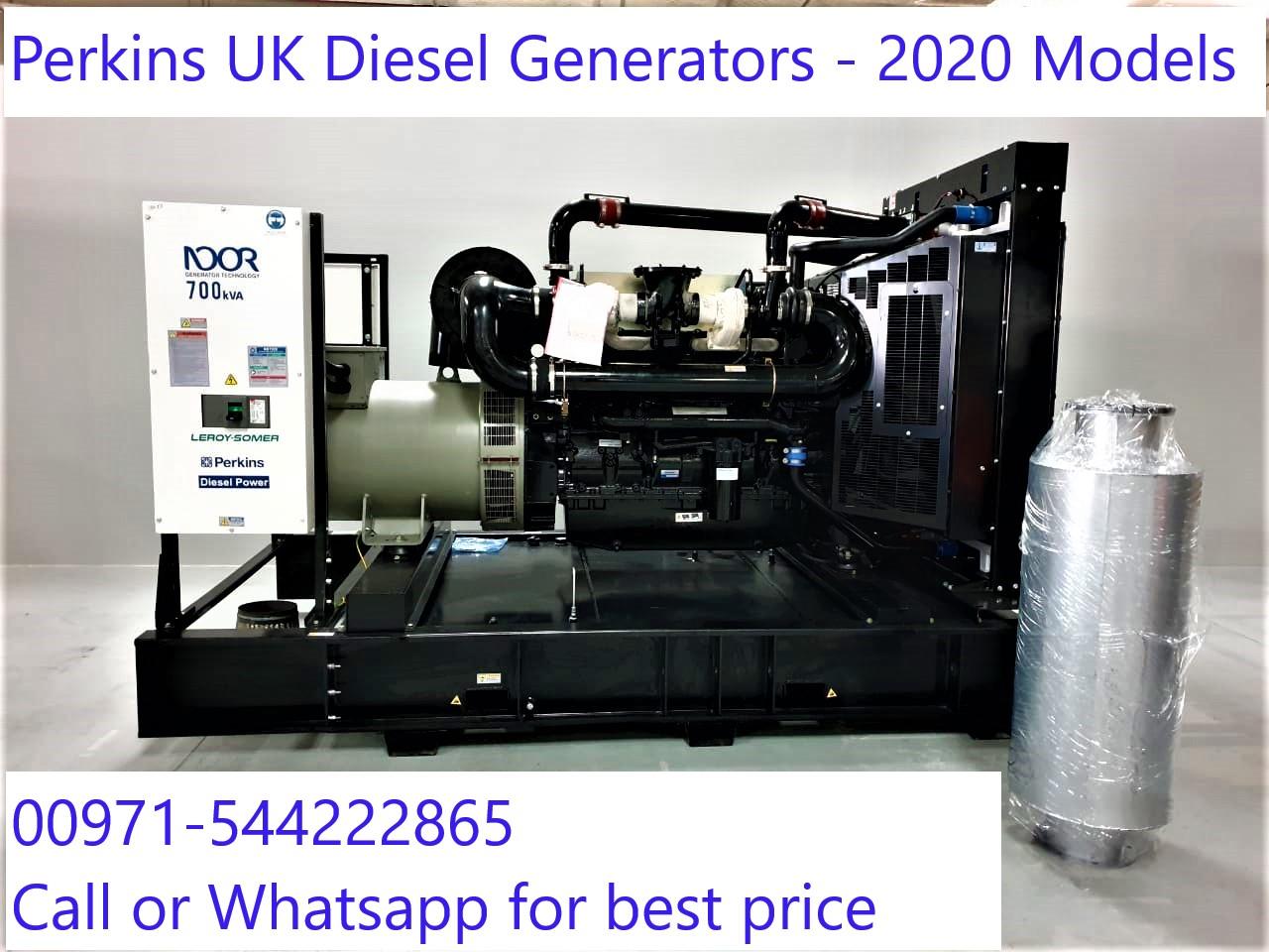 Diesel Generators powered by Perkins UK engine