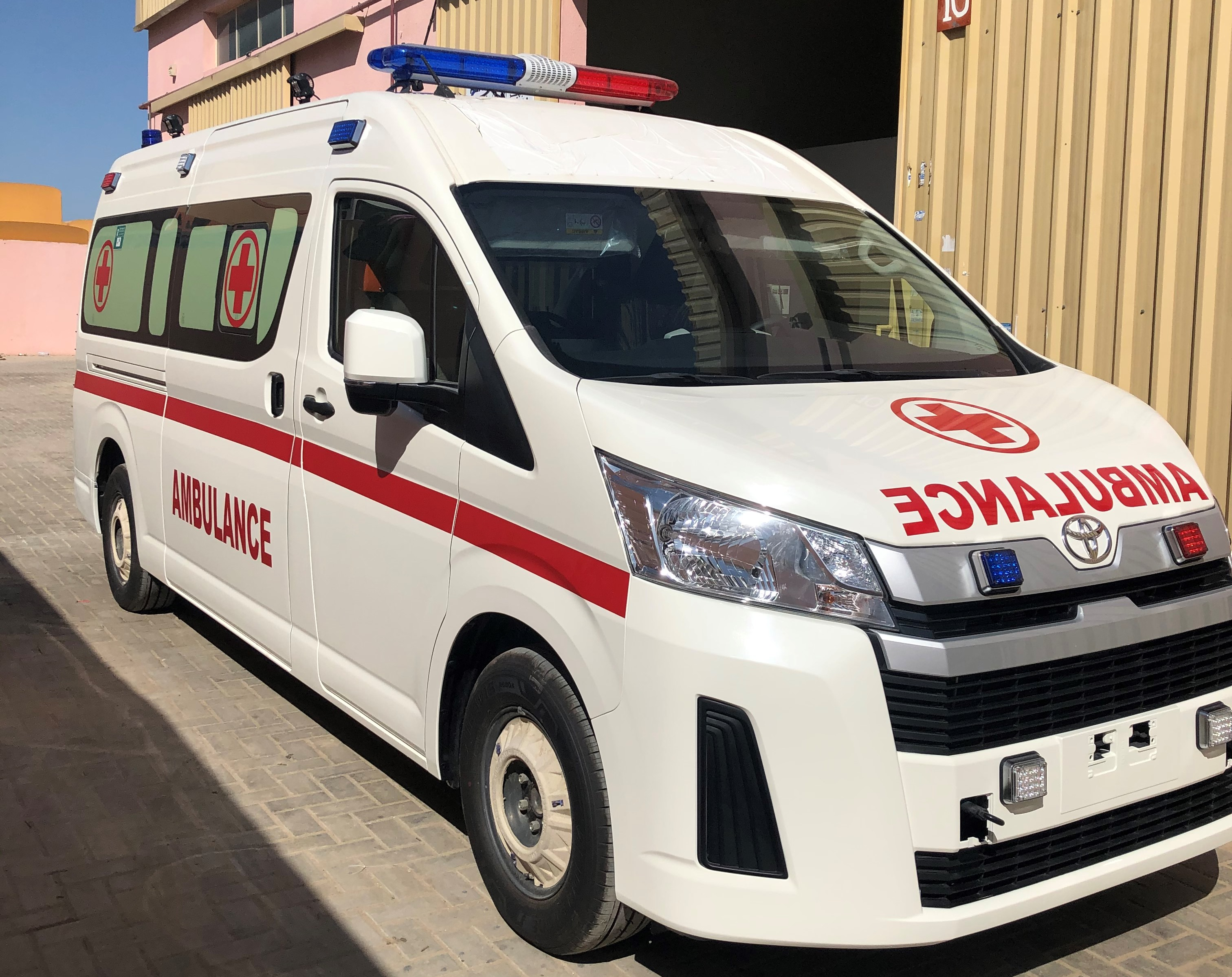 Toyota Hiace Hi Roof Ambulance Conversion