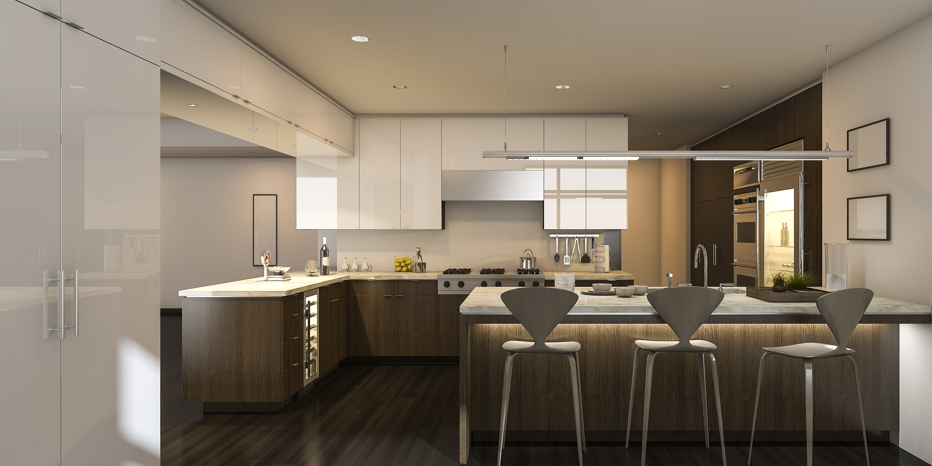 Custom-made products (Kitchens, Pantries, Coffee corners & Dining wall units)