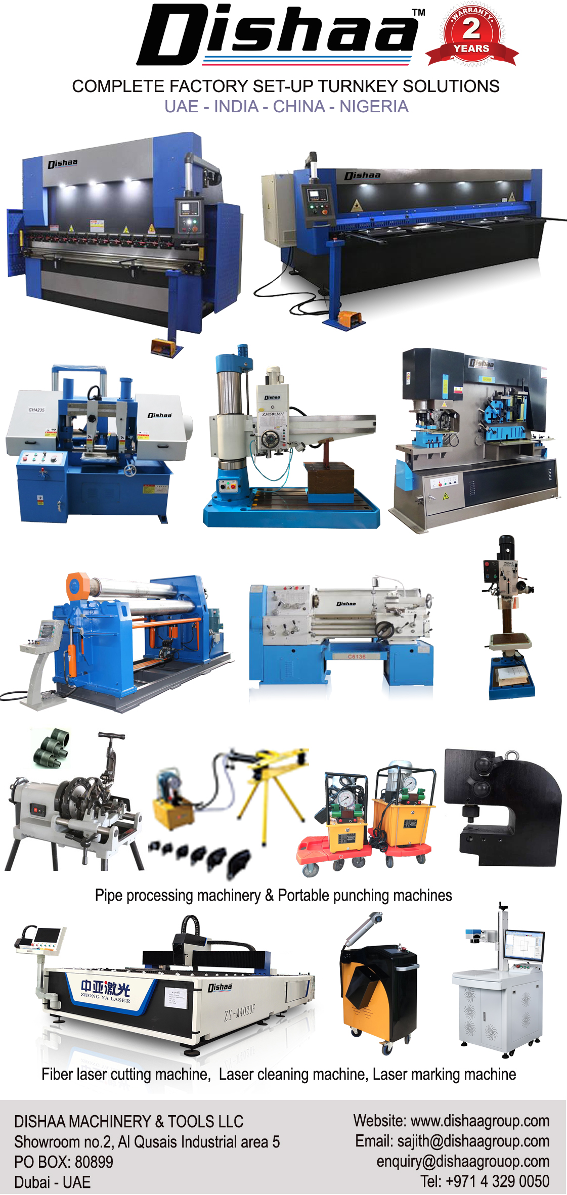 HEAVY FABRICATION MACHINES