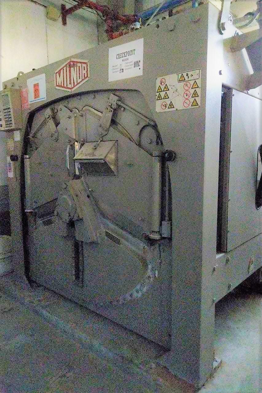 Refurbished Milnor 100 Kg Washer