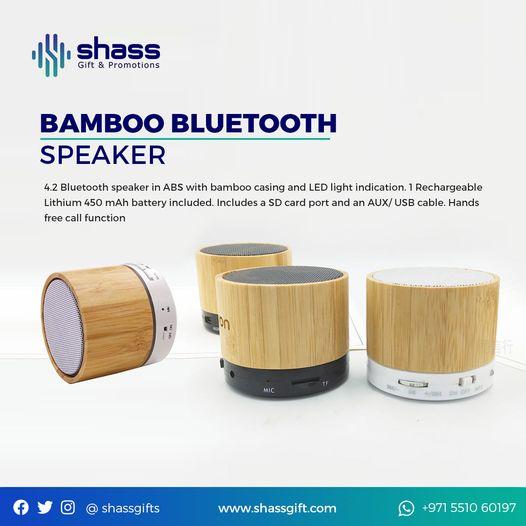 Stylish Eco Friendly Bluetooth Speaker
