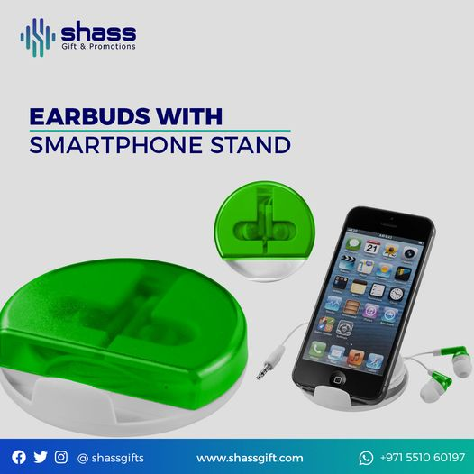 Ear Buds With Phone Stand