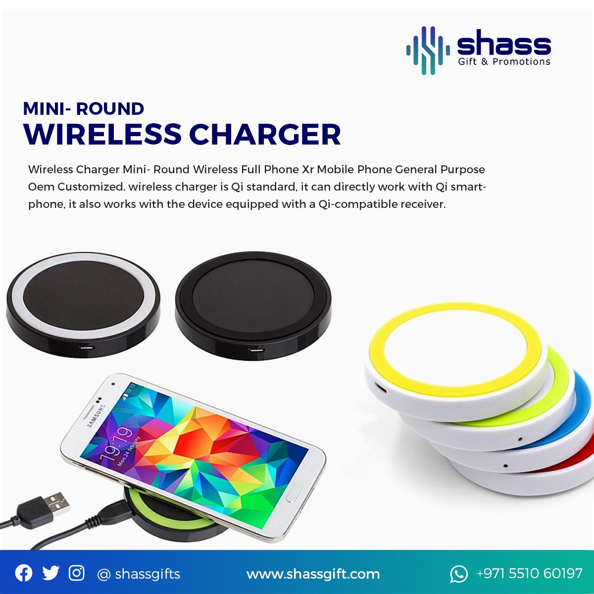 Mini Round Wireless Charger