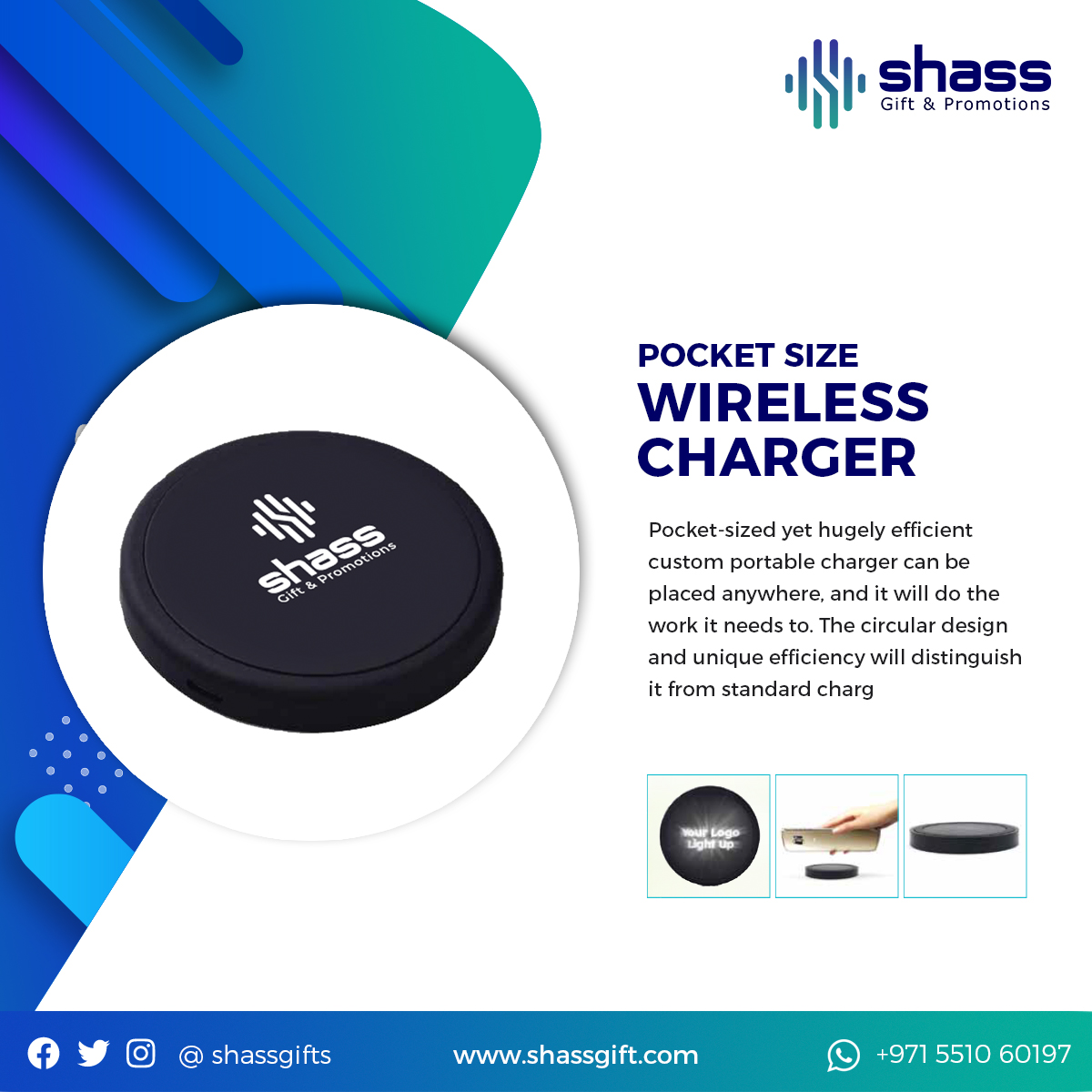 Pocket Size Wireless Charger