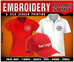 polo Tshirts /caps /printing/emrodery logos
