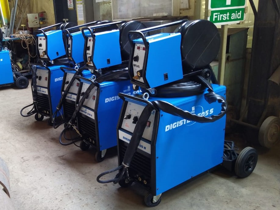 Welding machinery and consumables