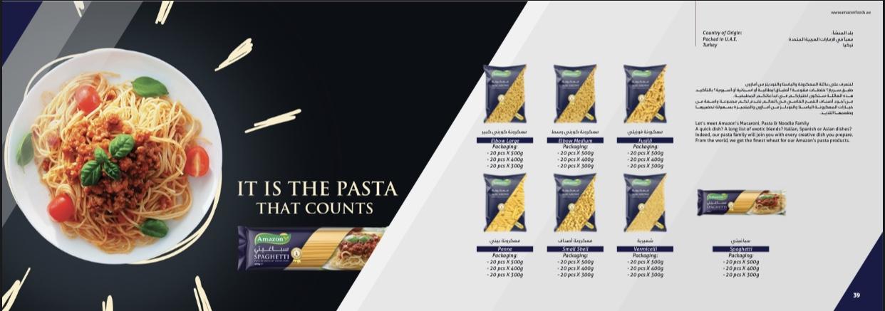 Amazon pasta